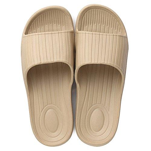 verano zapatillas bañera palabra baño indoor sandalfing interior piso Zapatillas macho slip de resbaladizo Par remolque Brown DogHaccd xAqIpW