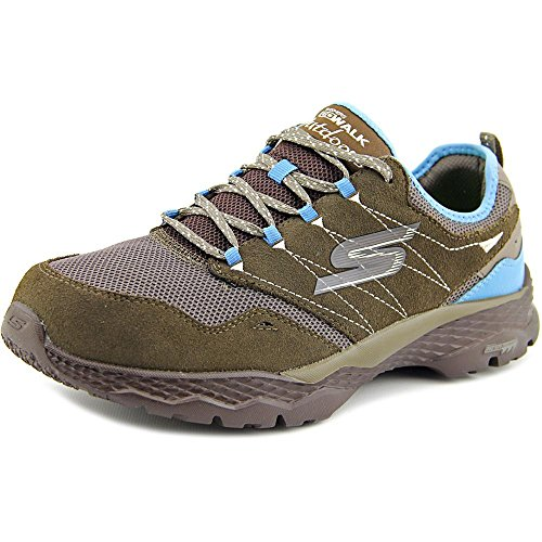 Skechers+Performance+Women%27s+Go+Outdoor-Journey+Walking+Shoe%2C+Taupe%2FBlue%2C+8.5+M+US