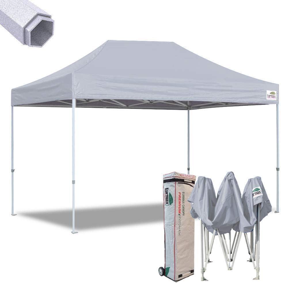 Eurmax Nueva 10 x 15 ft Premium Ez Pop Up Canopy Instant Refugio ...