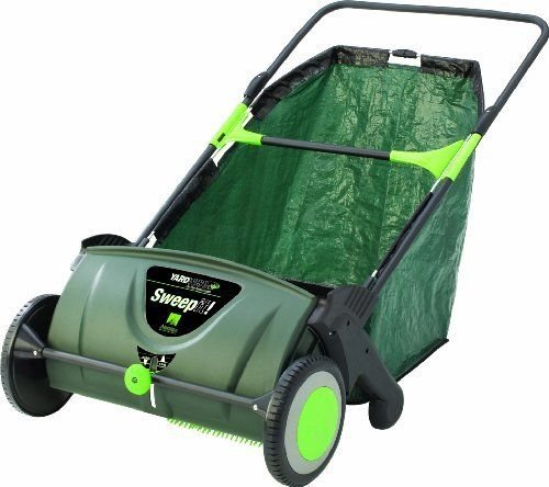 NEW Sweep It 21-inch Lawn Sweeper