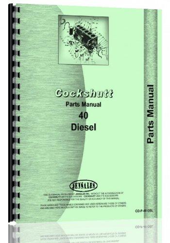 Cockshutt 40 Tractor Parts Manual