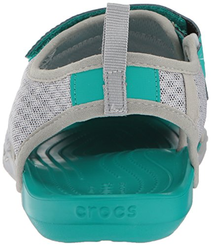 Crocs Sandale Femme Swiftwater Gris Clair