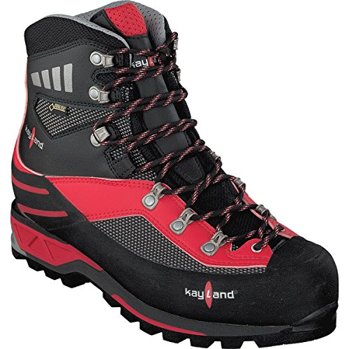 Kayland Shoes Men Moutaineeering Apex GTX Bleck-Red Nero