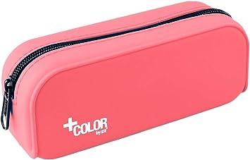 Color Estuche de Silicona, Tacto Ultra Soft de Alta Resistencia, Estuche Multiuso para Viaje, Material Escolar y Accesorios. Medidas 18 x 7 x 5 cm: Amazon.es: Juguetes y juegos