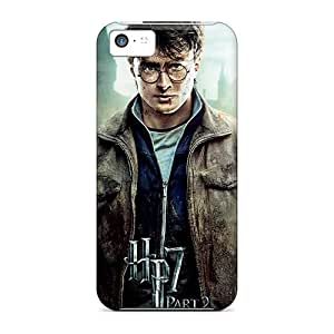 New LASforcase Super Strong Harry Potter And The Deathly Hallows Part 2 Tpu Case Cover For Iphone 5c