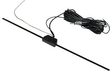 AERZETIX: Antena para Interior de Coche para Radio Autoadhesivo C1914