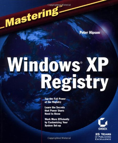 Mastering Windows XP Registry by Sybex