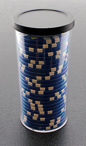 - Versa Games 25pc Poker Chip Storage Tube - 4 Piece Set