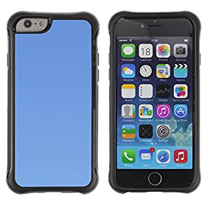 Pulsar Defender Series Tpu silicona Carcasa Funda Case para Apple iPhone 6(4.7 inches) , Simple Blue