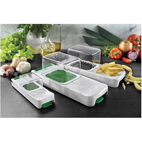 Strålande Kuraidori Alligator Multi Fruit/Vegetable Chopper/Dicing Kit LL-88