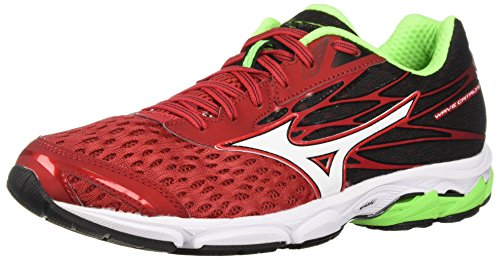 Mizuno Men's Wave Catalyst 2 Running Shoe, Formula One/White, 10.5 D US (Mens Mizuno Mesh)