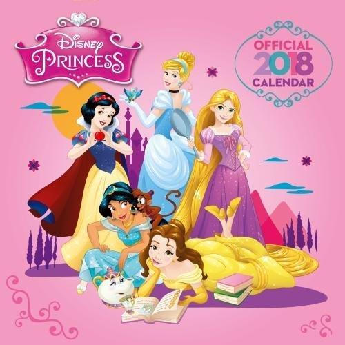 Disney Princess Official 2018 Calendar   Square Wall Format  Calendar 2018