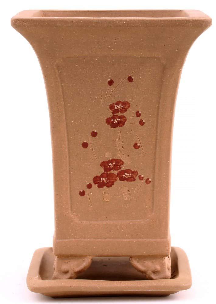 Bonsai – Cascata rigida 15,5 x 15,5 x 20,5 cm, con motivi 50026