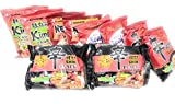 New Korean Hit Ramen Variety Pack Nongshim Shin Ramyun, Shin Black, Shin Ramyun, Neoguri Spicy Udon Seafood, Spicy Seafood, Real Kimchi Flavor. Top Nongshim Hits Korean Noodles (10 Packs - 2x Each)