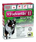 Advantix K9 Flea Killer Plus, Red,21-55 lbs. 4 Month Supply