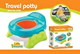 Little Treasures Travel Potty with Removable Bowl for Ages 9 Months and Up: more info