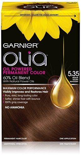 Amazon.com : Garnier Olia Oil Powered Permanent Haircolor ...