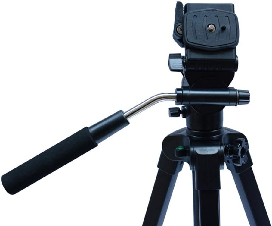 Tripod Portable Tripod Suitable For Mobile Digital SLR Camera Travel Suitable for Getting Started Color : Black , Size : One size Travel Tripod Outdoor Compact Aluminum Camera Tripod Monopod