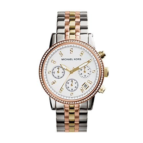 Michael Kors Womens MK5650 – Trilogy Ritz Chronograph
