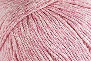 Debbie Bliss Cotton Denim DK Yarn #10 Rose