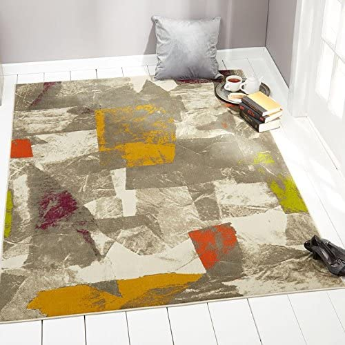 Home Dynamix 4721-999 Tanja Marley Modern Area Rug 7 10 x10 2 , Abstract Gray Green Purple