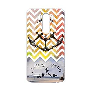 Love the life you live Custom Case for LG G3 (Laser Technology) by icecream design