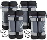E-Z UP WB3GYBK4 Deluxe Weight Bag, Set of 4 Review