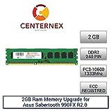 2GB RAM Memory for Asus Sabertooth 990FX R2.0 (DDR310600 ECC) Motherboard Memory Upgrade by US Seller