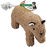 Ethical Pet Vermont Fleece Dog Toy, 10-Inch, Tiger, Assorted