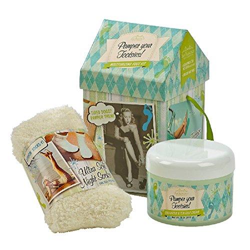 San Francisco Soap Company Eucalyptus & Tea Foot Therapy Kit w/Overnight Socks