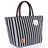 Lunch Bag for Women Insulated Tote Large Capacity with Durable Waterproof Material Leakproof