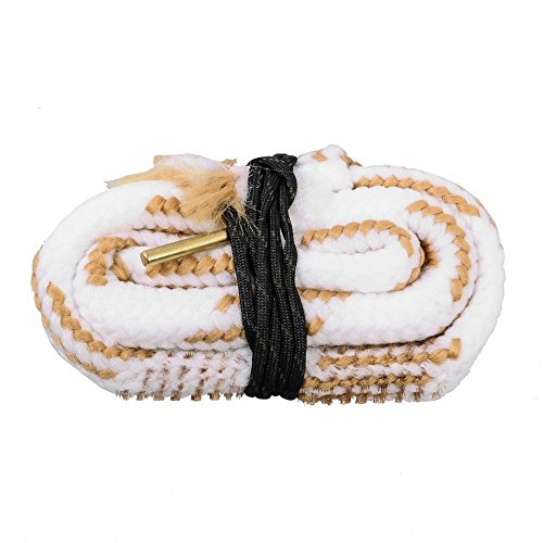 Cleaning Shotgun Barrel (New Bore Cleaner 16 GA Gauge Gun Barrel Cleaning Rope Rifle/Pistol/Shotgun Brass Brush Cleaning Cord)