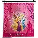 Disney Princess Fabric Shower Curtain Cinderella Belle And Rapunzel
