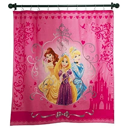 Disney Princess Fabric Shower Curtain