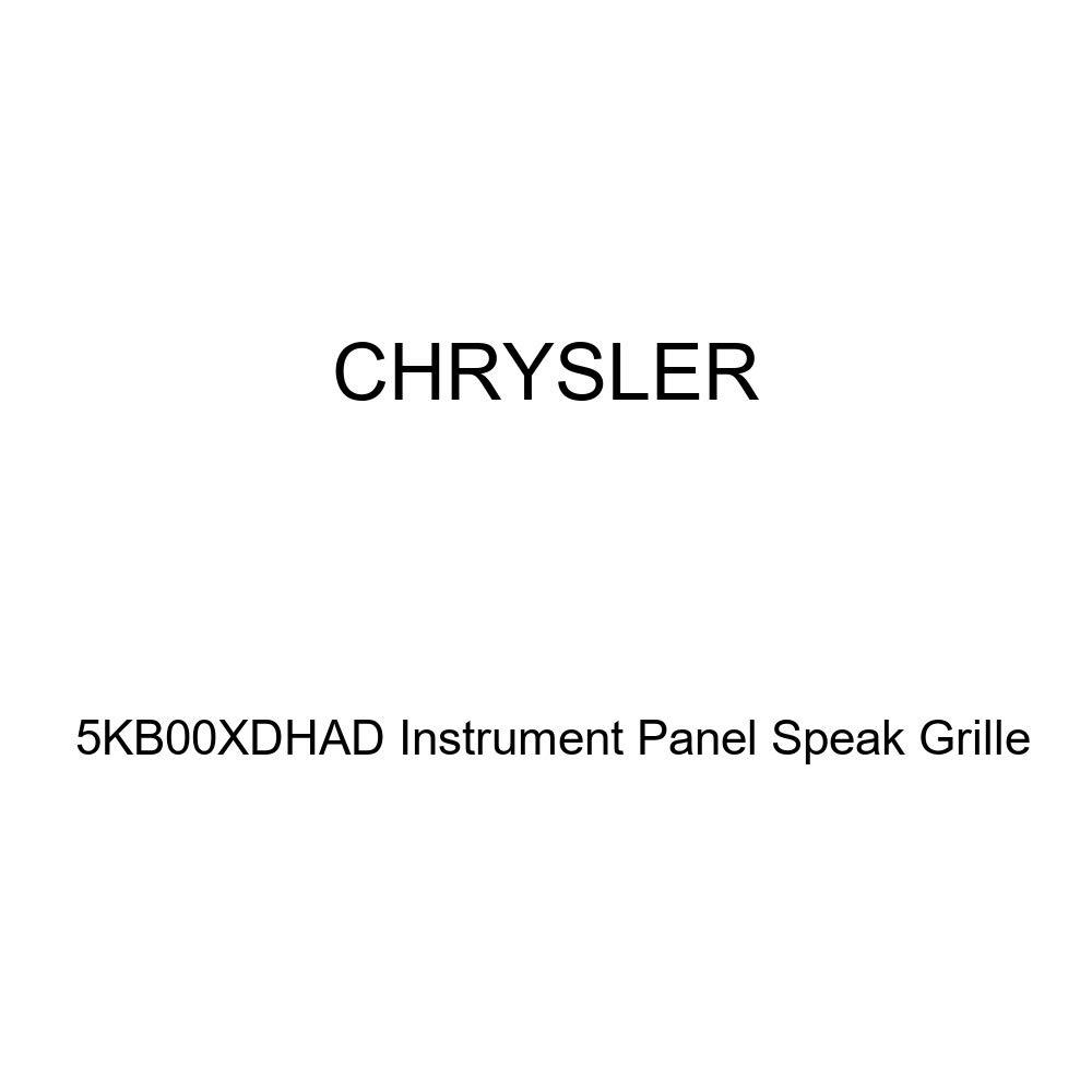 Genuine Chrysler 5KB00XDHAD Instrument Panel Speak Grille