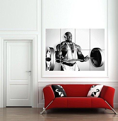 Doppelganger33LTD Bodybuilding Ronnie Coleman Giant Art Print Poster B1132 32x24