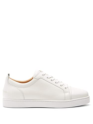 5c90222df98 Christian Louboutin Yang Louis Junior Authentic White Low Top Sneakers Size  45