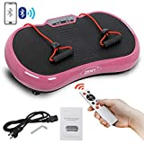 ZENY Vibration Plateform Machines Whole Body Vibrating Plate Machine Workout Fitness Shaking Machine w/Bluetooth Home Training Exercise Equipment