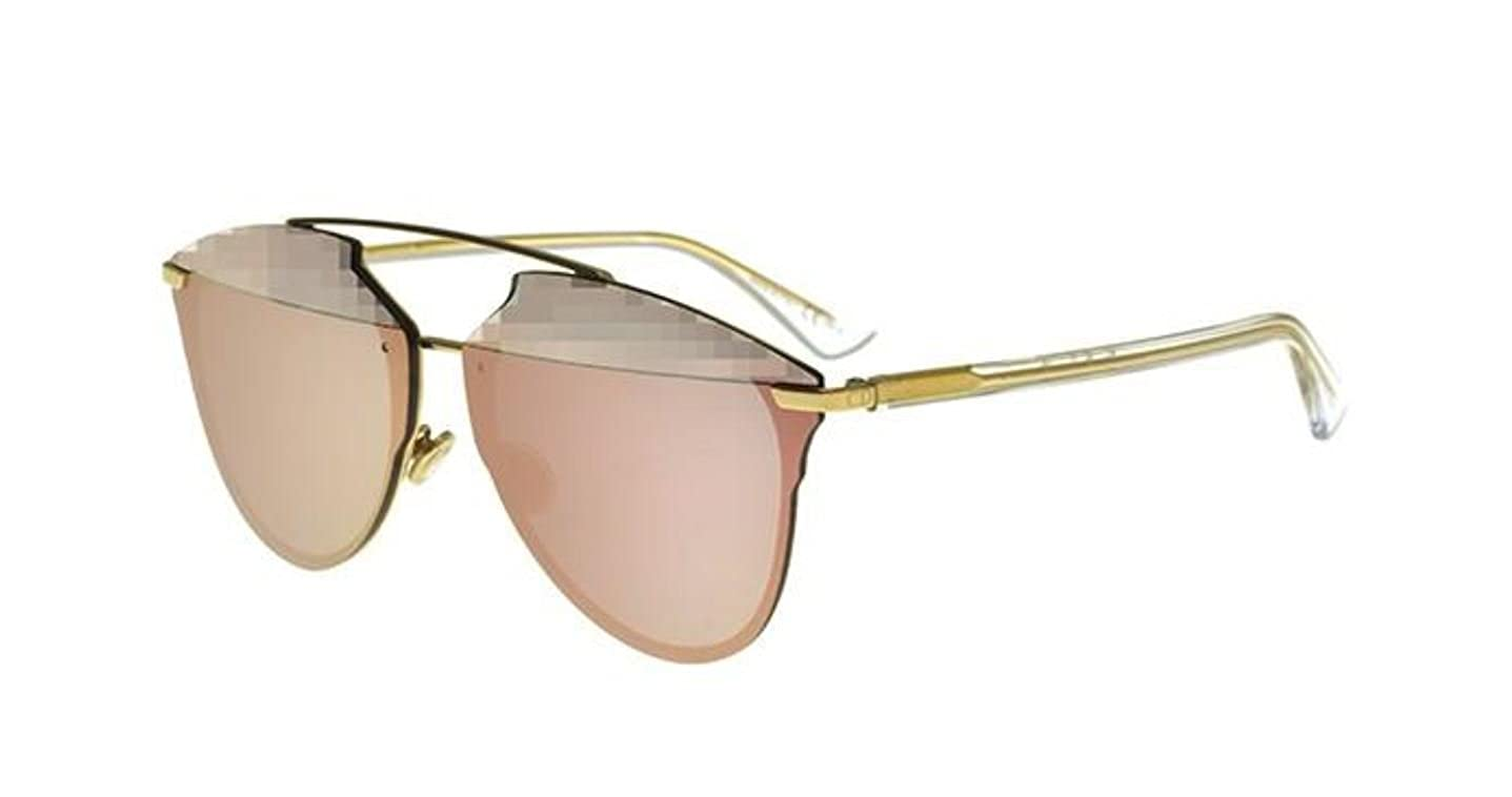 09626f7c841 Amazon.com  New Christian Dior REFLECTED P Pixel 0S5Z RG Gold Crystal  Sunglasses  Clothing
