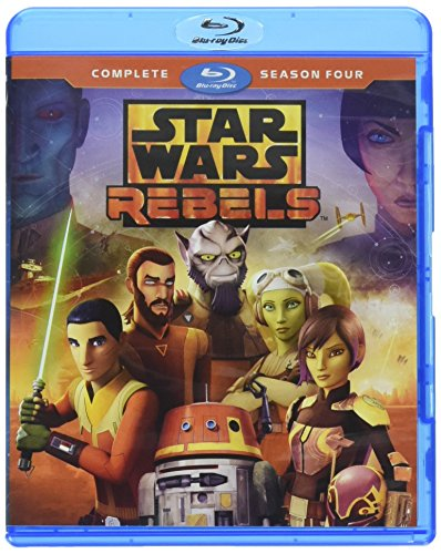 STAR WARS REBELS: COMPLETE SEASON FOUR (HOME VIDEO RELEASE) [Blu-ray] from Walt Disney Video
