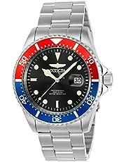 Invicta Men's Pro Diver 43mm Stainless Steel Quartz Watch, Silver, Silver/Green (Model: 23384, 25714)
