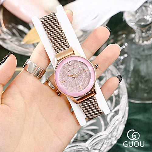 HWCOO Hermoso Relojes de Pulsera GUOU Star Watch Moda Mujer ...
