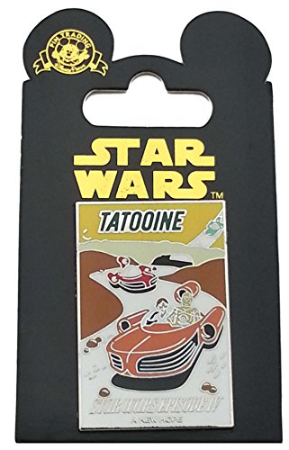 Disney Pin - Star Wars Poster - Tatooine - A New Hope (Episode IV)