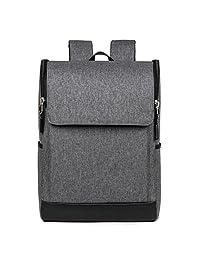 Advocator Business Case Travel Daypack Bookbag School Bag 15.6 Inch Laptop Backpack