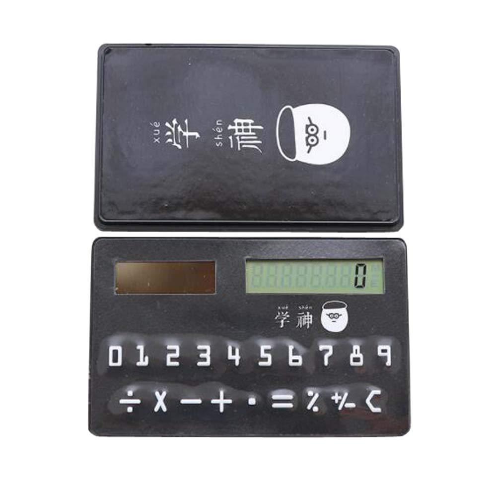 ミニ 薄型 カードタイプ ソーラー電卓 クリエイティブ ポータブル 小型電卓 #02   B07H55X2GL