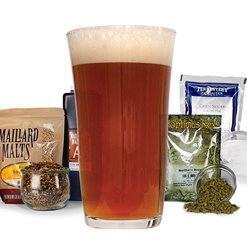 Megalodon Imperial Red Ale - Homebrew Beer Recipe Kit - Malt Extract (Ale Beer Red)