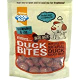 GOOD BOY DUCK BITES - BITESIZE DOG TREATS MADE WITH REAL DUCK BREAST MEAT - IDEAL TRAINING TREATS FOR SMALL DOGS AND PUPPIES OVER 4 MONTHS