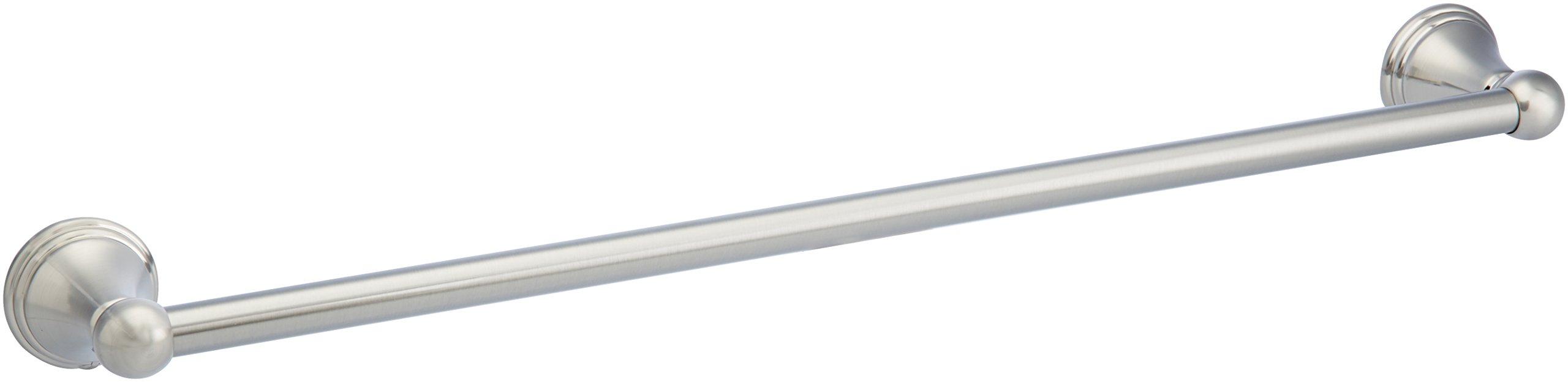 AmazonBasics AB-BR811-SN Towel Bar, 24 Inch, Satin Nickel by AmazonBasics