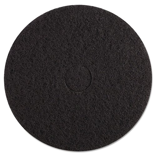 premiere-pads-pad-4017-bla-standard-stripping-floor-pad-17-diameter-black-case-of-5
