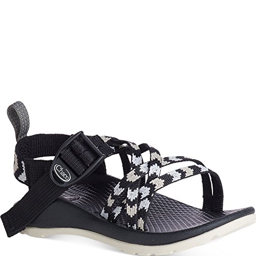 Chaco Unisex-Kids ZX1 Ecotread Sport Sandal, Fletched Black, 6 Medium US Big Kid